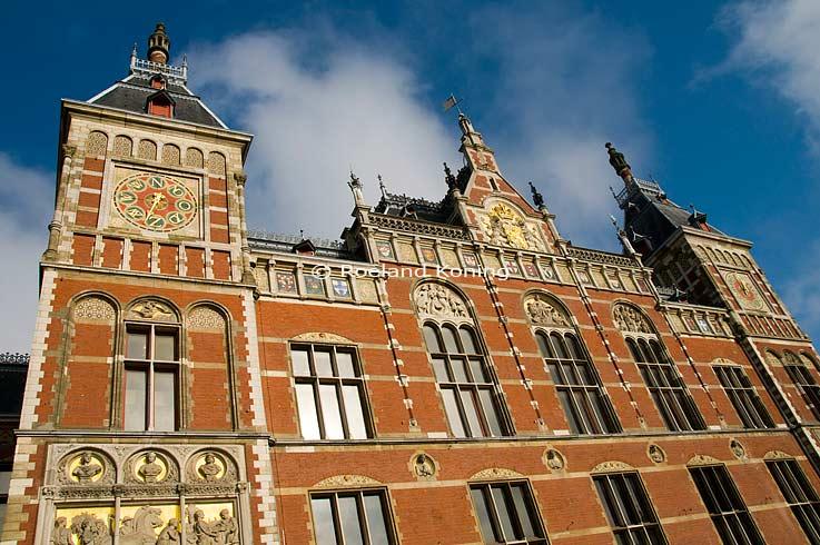 Centraal station amsterdam - Hal ingang ontwerp ...