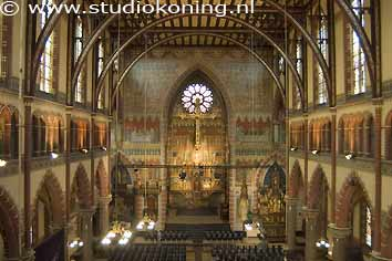 Dominicuskerk for De laat interieur