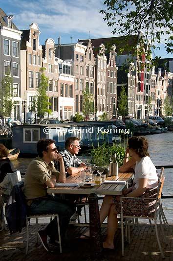 Brouwersgracht for Lay outs terras van het restaurant